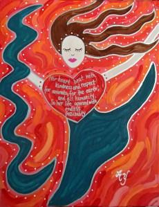 Emma, 11x14 commission, DeKatt Private Collection